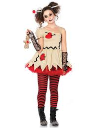 Scary Halloween Costumes Teenage Girls Teen Voodoo Doll Costume Gothic Party Costumes Teens