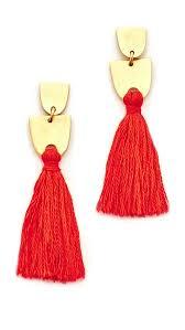 madewell tassel earrings shopbop