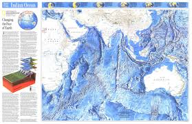 Ocean Maps National Geographic Indian Ocean Map Maps Com