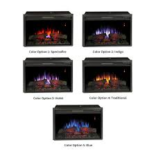 classicflame 26 in spectrafire plus electric insert and remote