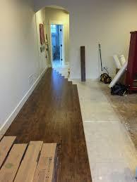 laminate wood floor no more carpet the lilypad cottage