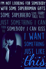 something just like this by the chainsmokers and coldplay lyric