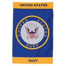 Navy Flag Meanings U S Navy Emblem Applique Garden Flag