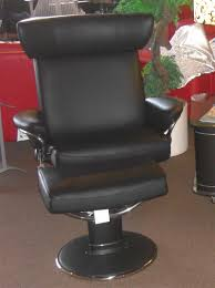 Black Leather Recliner Chair Stressless Jazz Medium Paloma Black Leather Recliner Chair