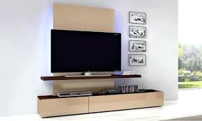 tv stand ergonomic wall hung tv stand inspirations modern tv