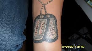 dog tag tattoo by mjmtattoos on deviantart tattoomagz
