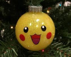 pikachu ornament etsy