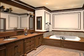 wood bathroom ideas luxury bathrooms design with wood cabinets and wall mirror plus