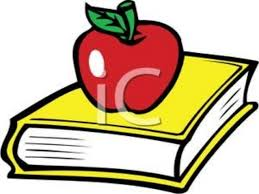 The Book Is On The Table Apple On The Table Clipart Clipartxtras