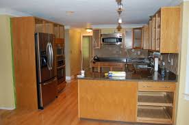 Refinish Kitchen Cabinets Before And After Kitchen Cabinet Refinishing Before After Diy Kitchen Cabinets