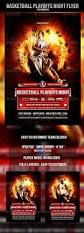 free flyer designs basketball playoffs night flyer template by odin design graphicriver