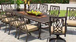 saratoga 11 piece patio dining collection video gallery