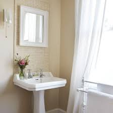 Bathroom Pedestal Sink Ideas Pedestal Sink With Backsplash Exquisite Cottage Style Bathroom
