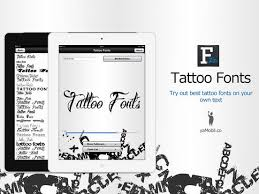 tattoo fonts design your text tattoo on the app store