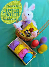 peeps easter basket bonggamom finds ideas for easter gift baskets featuring peeps
