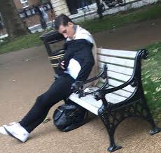 Old Park Benches Troubled Jeremy Mcconnell Spotted U0027sleeping On A Park Bench U0027 After