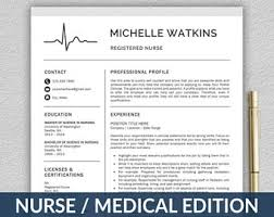 Medical Doctor Resume Example by Nurse Resume Template For Word U0026 Pages Medical Resume Nurse
