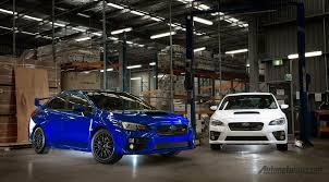 subaru blue subaru wrx sti nr4 mobil khusus balap dari subaru siap dijual