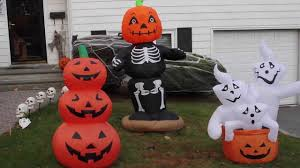 Halloween House Decorations Uk by My Airblown Inflatable And Halloween Decorations Display 2013