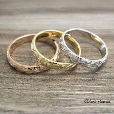 ceramic gold rings images Gold rings aolani hawaii jpg