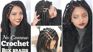 box braids vs individuals gray crochet box braids find your perfect hair style