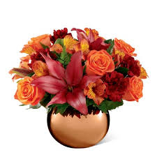 best place to order flowers online harvest reflections orange bouquet at send flowers