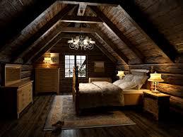 Attic Bedroom 3d Bedroom In The Attic Cgtrader