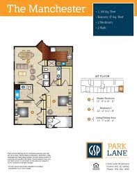 Garden Floor Plan by Park Lane At Garden State Park Brand New Luxury Apartments In