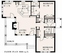 two bedroom cottage plans if i could build my own house this is the floor plan i would use