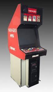 Neo Geo Arcade Cabinet 112 4849 Neo Geo Multi System Arcade Game Arcade Games