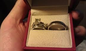 wedding ring in a box wanna see mens wedding bands