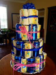 Man Showers More Dudes Celebrate Dads To Be Beer Cakes Diapers