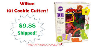 wilton 101 cookie cutters only 9 88 shipped