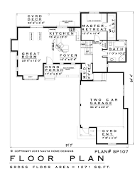 side split house plans canada