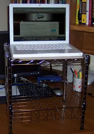 create a simple standing desk for 20