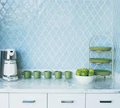 Moroccan Tiles Kitchen Backsplash Impressive Light Blue Moroccan Tile Backsplash 140 Light Blue