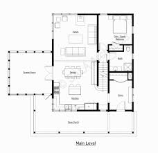 Farmhouse Floor Plan by A Classic Farmhouse Fine Homebuilding