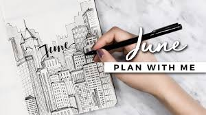plan with 2017 bullet journal setup youtube