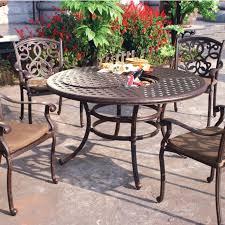 Cast Aluminum Patio Furniture Sets Best Cast Aluminum Patio Table Deck Hearth Shop Outdoor Set