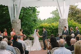 St Louis Botanical Garden Wedding Outdoor Wedding Ceremonies
