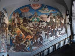 diego river murals palacio nacional brenton lemesurier mexican history pre colonial diego rivera mural at palacio nacional de mexico