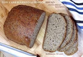 Coconut Flour Bread Recipe For Bread Machine Low Carb Flaxseed Sandwich Bread With Bread Machine Recipe