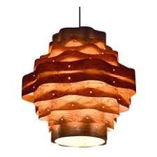 Wood Veneer Pendant Light Wood Veneer Pendant Lighting Houzz