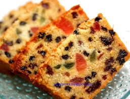 table for 2 or more alcohol free orange fruit cake