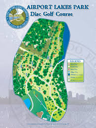 Orlando Airports Map by Airport Lakes Disc Golf Course Professional Disc Golf Association
