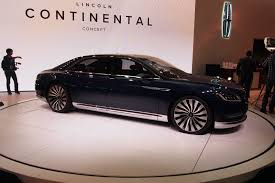 Lincoln Continental Matrix 2017 Lincoln Continental To Debut In January Autoguide Com News