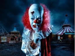 evil clown movie wallpaper