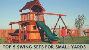best swing sets for small yards 2017 u2013 guide and reviews