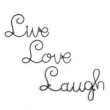 Live Laugh Love Signs Live Love Laugh Wall Decor Shenra Com
