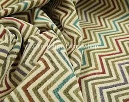 Colourful Upholstery Fabric 10 Metres Of Soft Woven Jacquard Chenille Upholstery Fabric